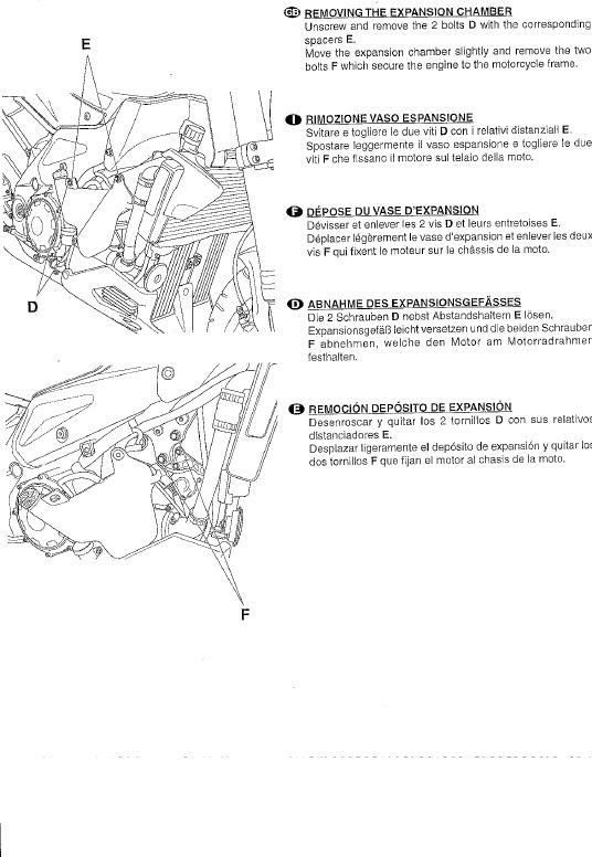 Istruzioni montaggio tamponi paracarena Tuono new 210