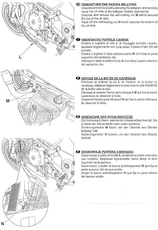 Istruzioni montaggio tamponi paracarena Tuono new 610