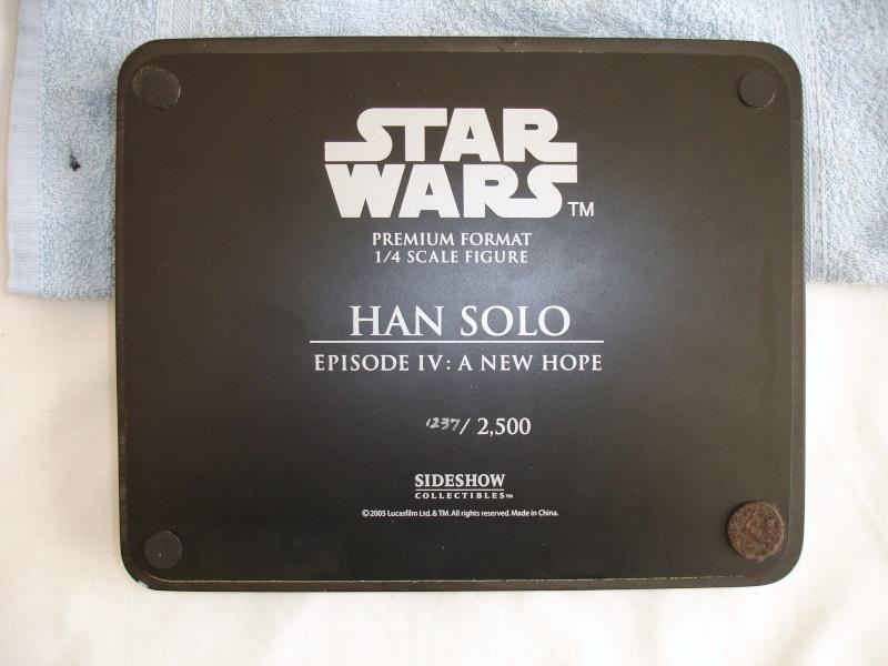 réparation d'une PF han-solo de chez sidehow. Dsc00962