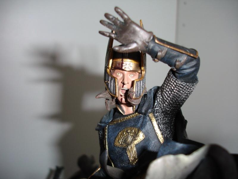 CUSTOM d'un diorama , Sauron VS the numenorean army  de chez sideshow. Dsc01220