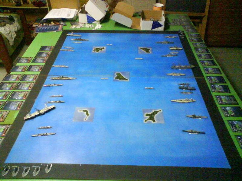 WWII Axis & Allies War at Sea 1146110