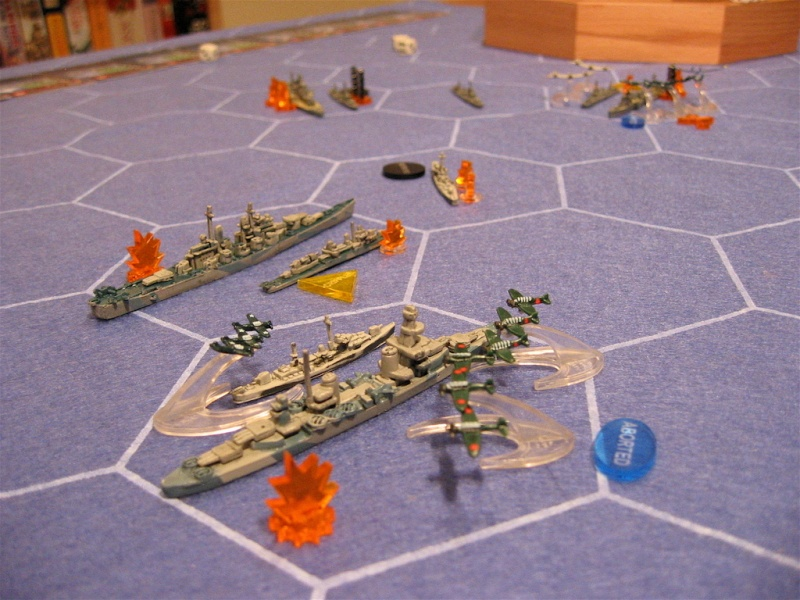 WWII Axis & Allies War at Sea 32526710