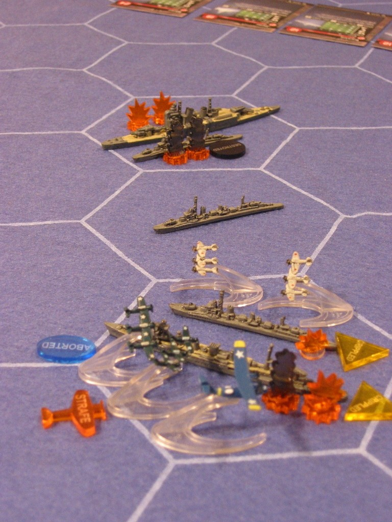 WWII Axis & Allies War at Sea 32526810