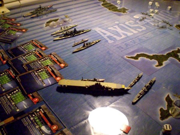 WWII Axis & Allies War at Sea Warats10