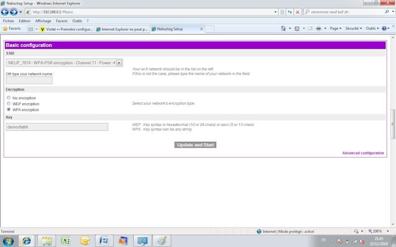 Après Numéricable je passe sur sfr box Nab10