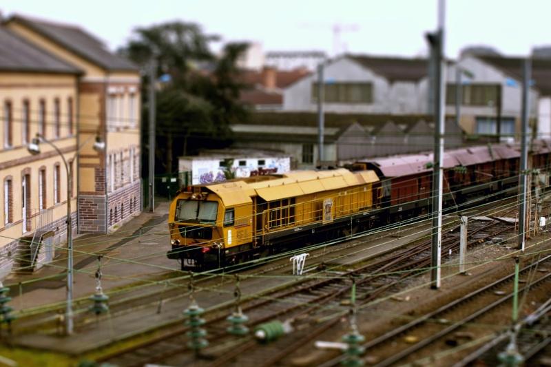 mon petit train en gare  de rennes Miniat11