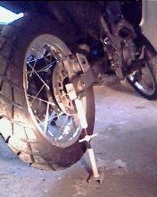 Démontage roue arrière 98749i10