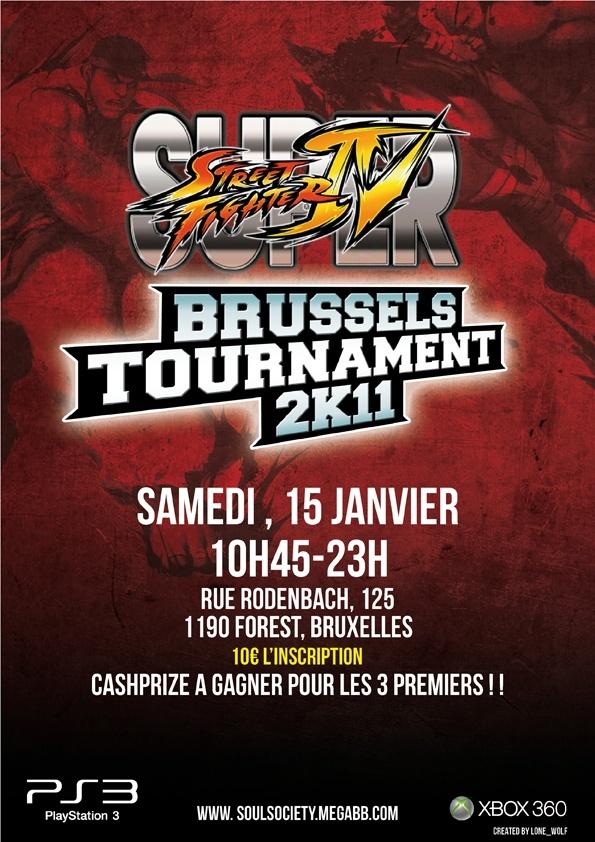 TOURNOI SSF4 BRUXELLES - 15/01/2011 - Page 4 Affich11