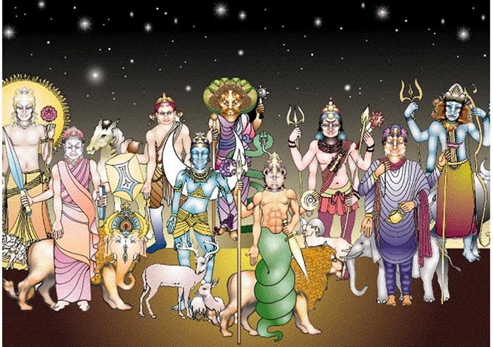 Hindu's primal deity God10