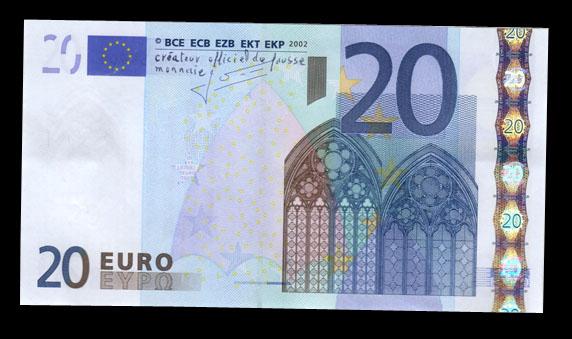 Résistance sur les billets de banque Billet11