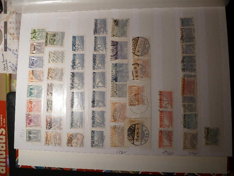 Marken aus Verlassenschaft Bestimmung P1000025