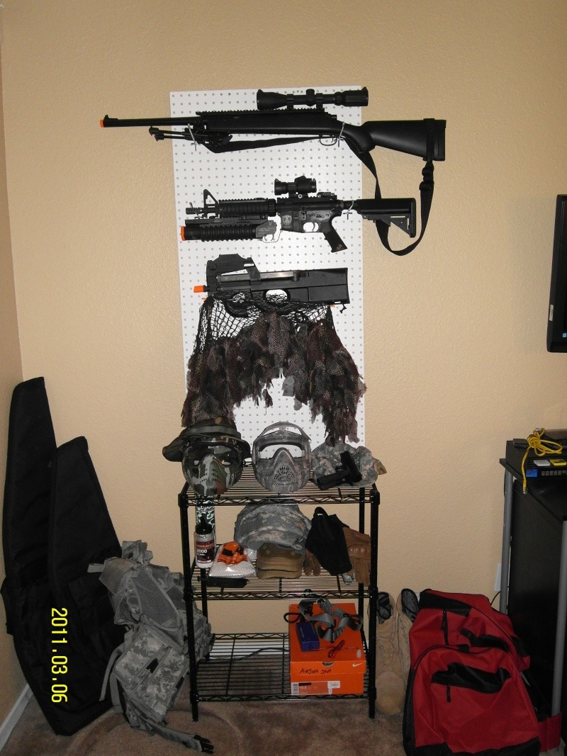 Check out the Gun Rack Gun_ra10