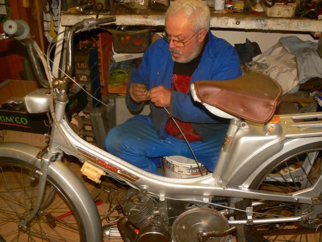 Daniel S le Vendéen et ses cyclos P1240514
