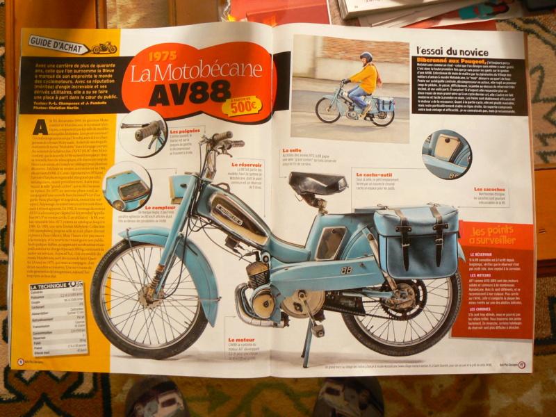 Une revue automobile qui parle de Motobobécane 88 P1270513