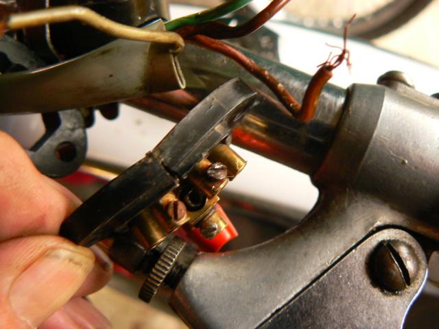 Gire el control de señal en SP-96 P1270637