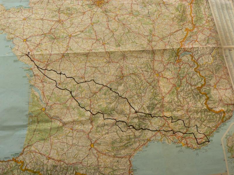 Balade en Mobylette de la Vendée à St Tropez P1280126