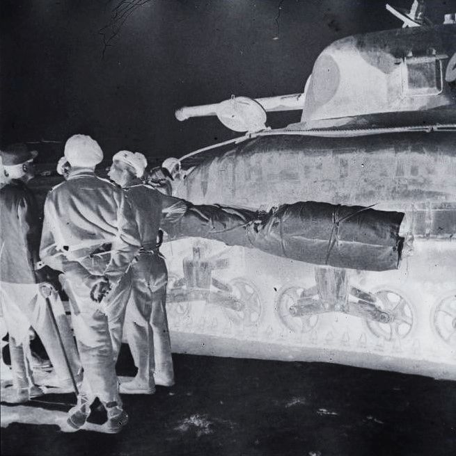 Des Shermans M4A1 à la 1ère CACC en Tunisie? Lecler11