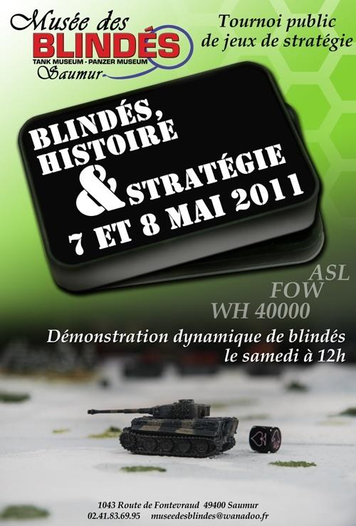 Visite du musée des blindés de Saumur le 7 mai 2011 Blinde13