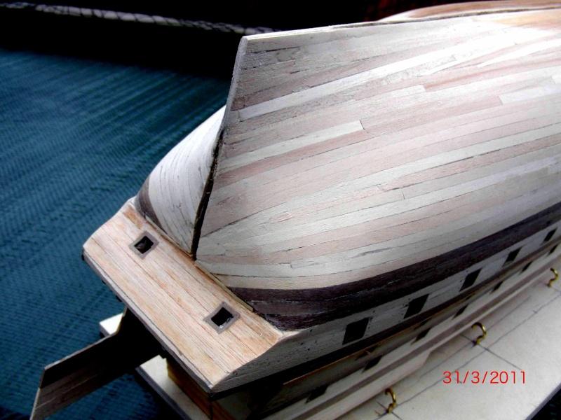 Huberts Baubericht Victory aus Holz Bau-vi12