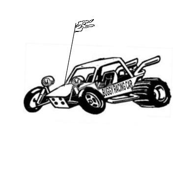 buggy racing car