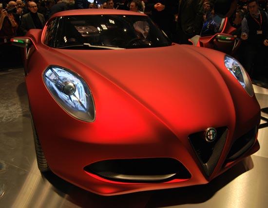 Nuove Auto e Moto Alfa-r10