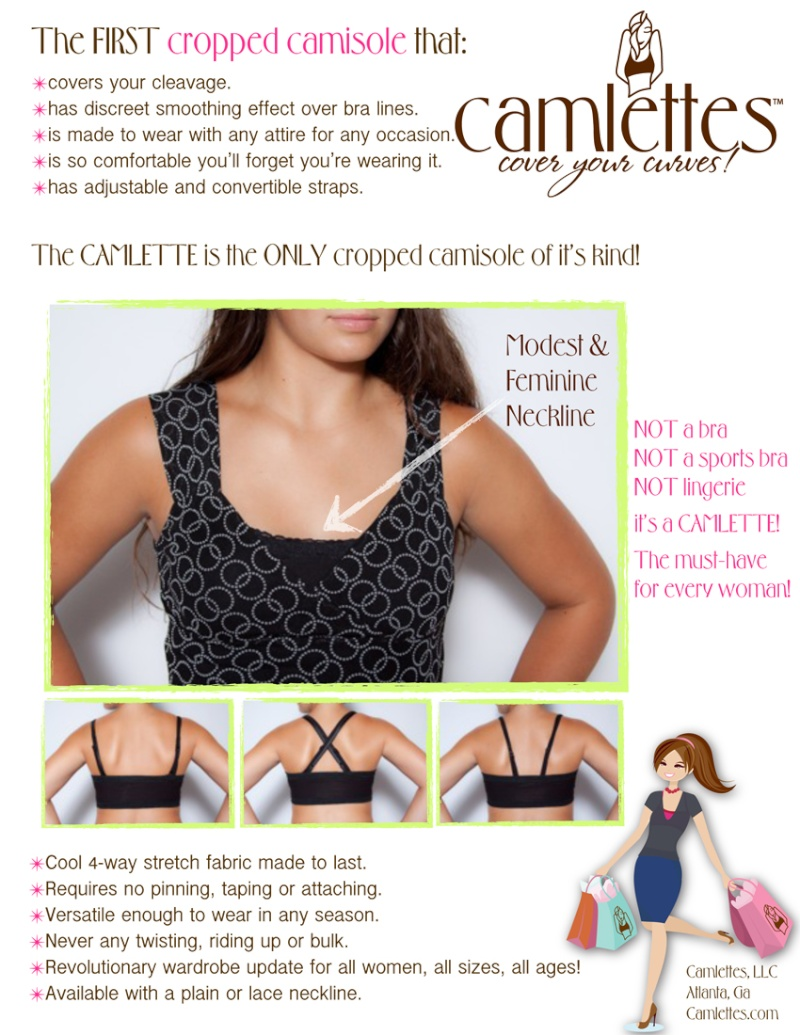 Sell Sheet examples for use when approaching retailers Camlet10