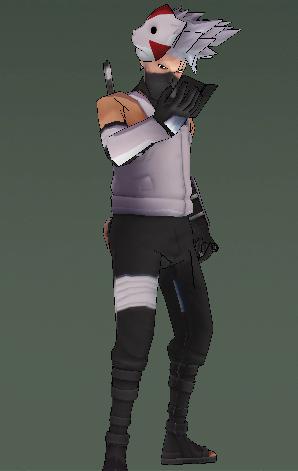 Model - Anbu Kakashi Sem_ta10