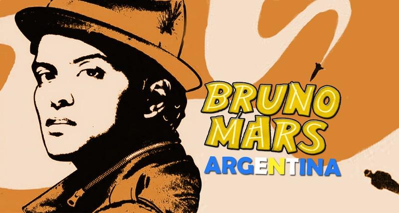 Bruno Mars Argentina
