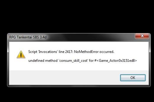 Script SBS + Invocation [résolu] Buginv11