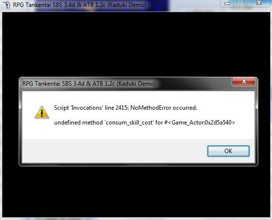 Script SBS + Invocation [résolu] Pb10