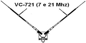 ANTENNA MALDOL VC-721 FT-817 Vc72111