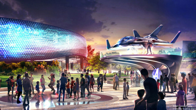 [Parc Walt Disney Studios] Attraction Iron Man et les Avengers (202?) - Page 35 Avenge11