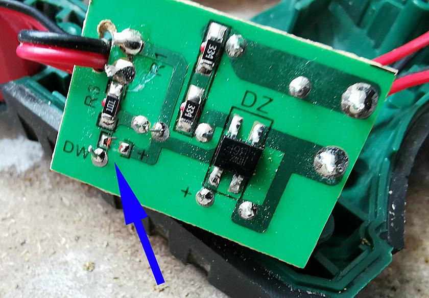 Réparation scie sabre Parkside PFS 710 C2 Parksi10