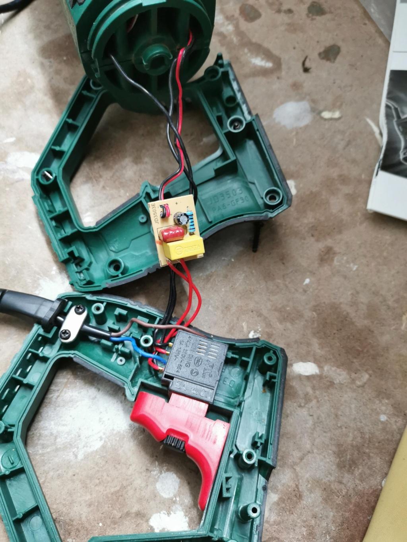 Réparation scie sabre Parkside PFS 710 C2 Parksi11
