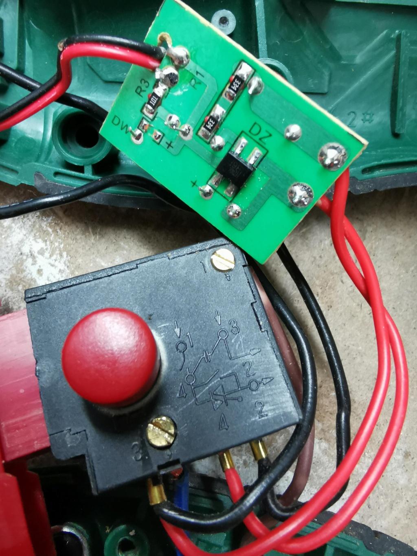 Réparation scie sabre Parkside PFS 710 C2 Parksi12
