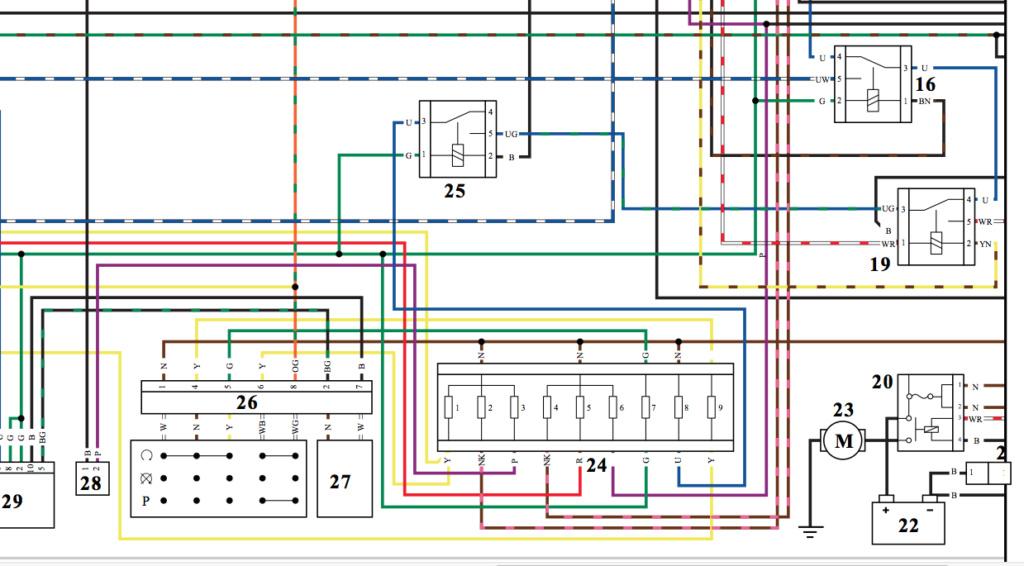 Schéma électrique T120 Liquid 1110