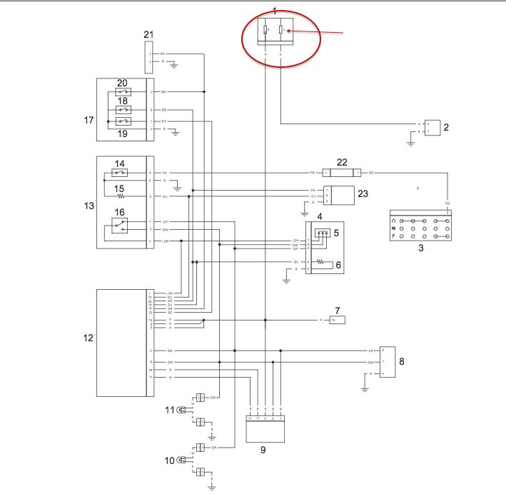 Schéma électrique T120 Liquid Captur23