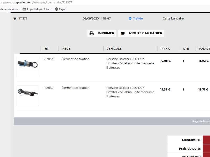 Comment démonter la console centrale – Tutoriel Boxster 986 Rotule10