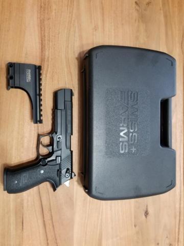 Pistolet - SA 22 Sport, 22 LR - de Swiss Arms 20190323