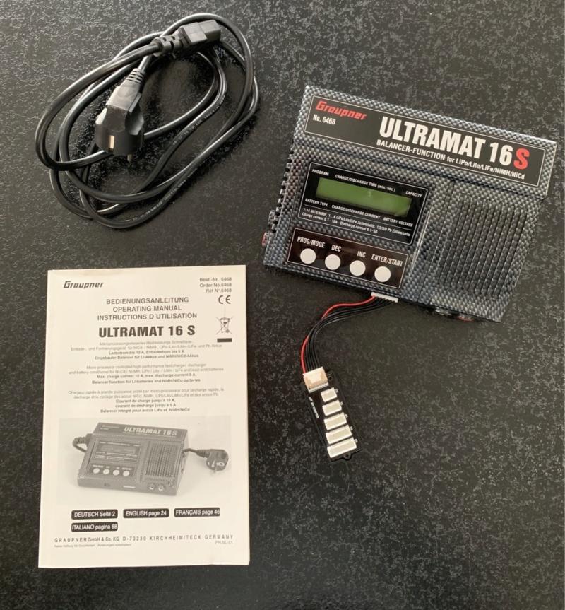 Chargeur Graupner Ultramat 16S Jggja210
