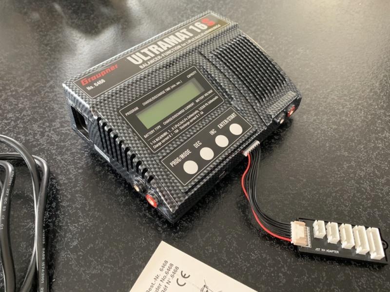 Chargeur Graupner Ultramat 16S Unadju10