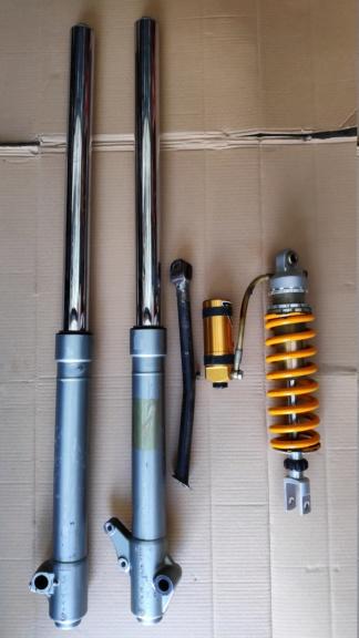 Vends suspensions + béquille de Yam 600 TTR Img_2014