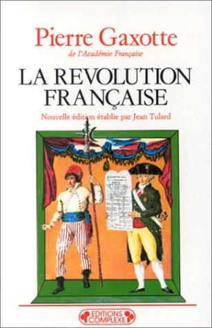 La révolution française de Pierre Gaxotte 51crq610