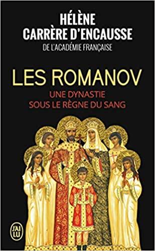 Les Romanov de Hélène Carrere d'Encausse 51xucw10