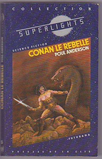 Conan le rebelle de Poul Anderson 84891010