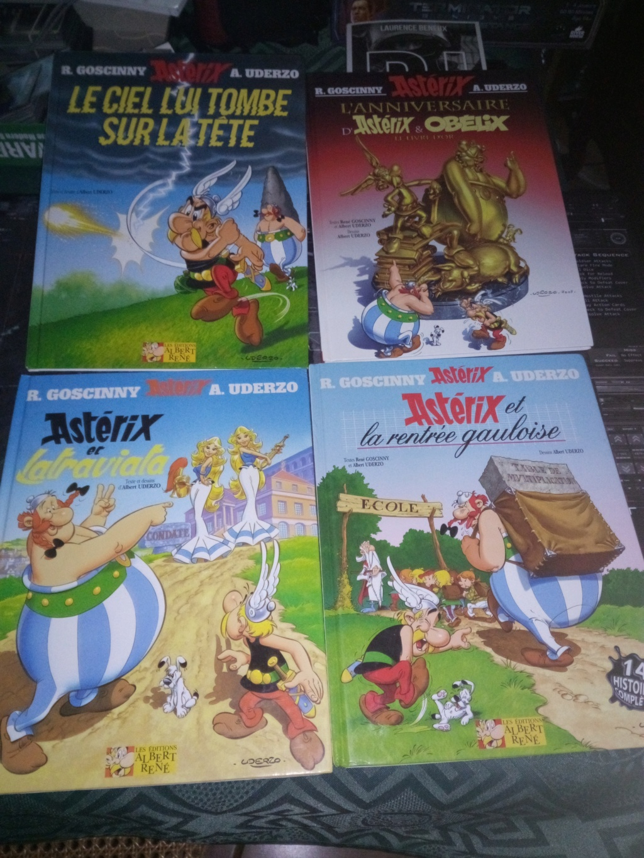 Asterix de Uderzo et Goscinny Asteri10