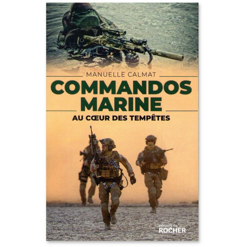 Commandos Marine de Manuelle Calmat Comman10