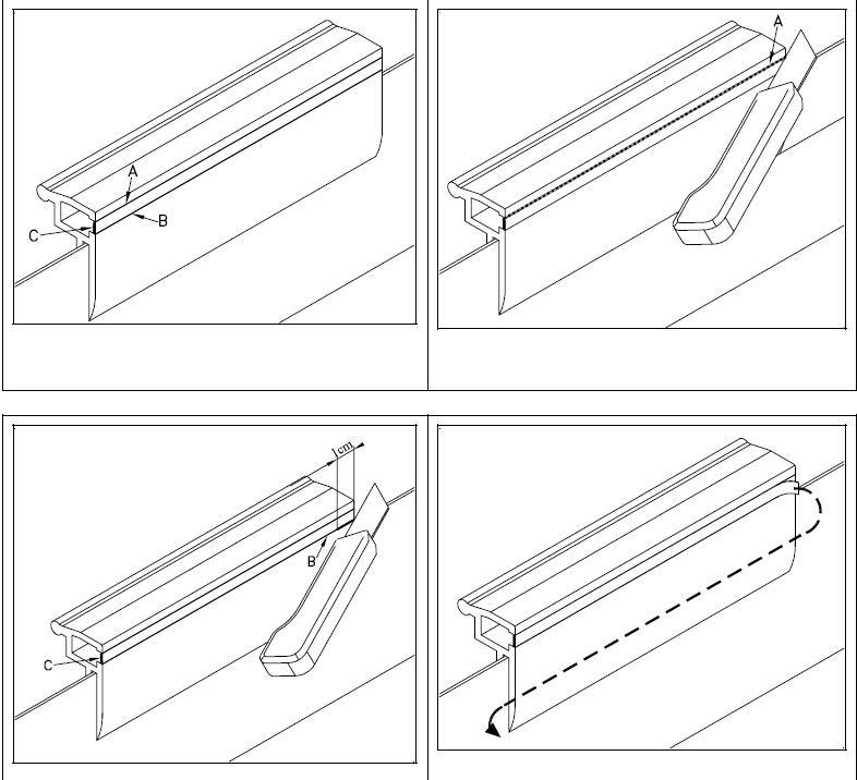 Montage liner hung sur fire Profil10