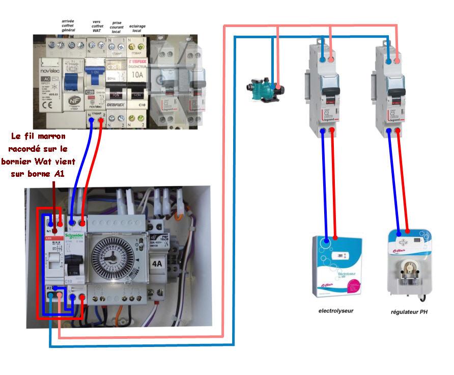 Branchement électrolyseur Watphe10