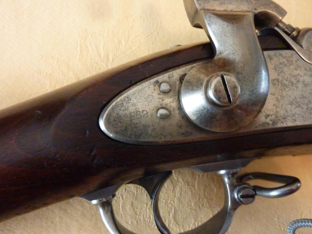 US MUSKET 1861 Fabrication COLT Civw210